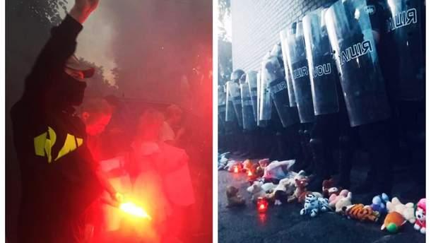 Столкновения в Переяславе-Хмельницком