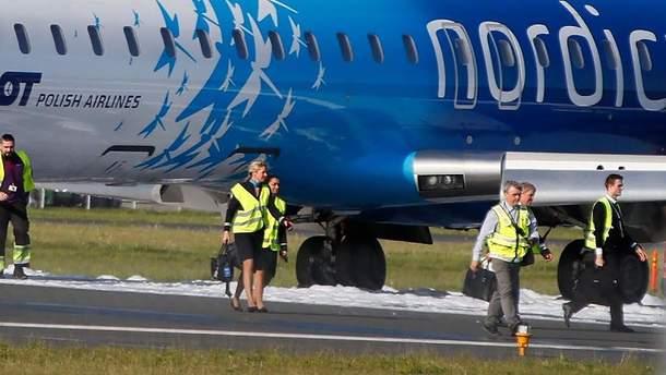 В Естонії здійснив екстрену посадку літак, що прямував з Києва