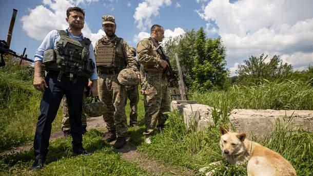 Зеленський звернувся до Росії через ескалацію конфлікту на Донбасі