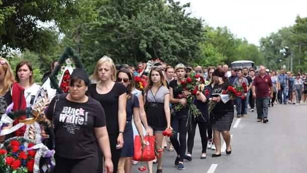 Похорон Кирила Тлявова - фото з похорону хлопчика 5 червня 2019