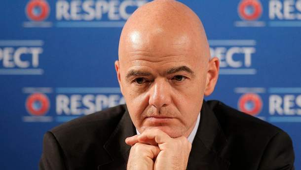 Джанни Инфантино остался президентом ФИФА