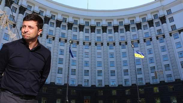 Кабмин требует от Зеленского уволить глав ОГА