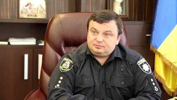 Голова поліції Київської області Дмитро Ценов