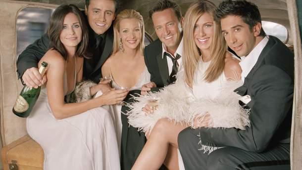 Дженнифер Энистон прокомментировала перезапуск культового сериала «Друзья»