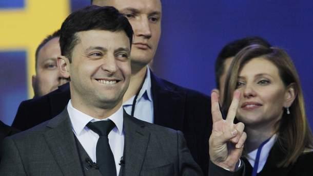 Зеленський поцупив шматок промови Порошенка