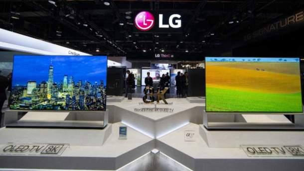 Первый в мире 8K OLED-телевизор от LG
