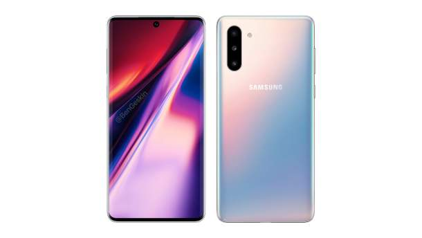 Дизайн смартфона Samsung Galaxy Note 10