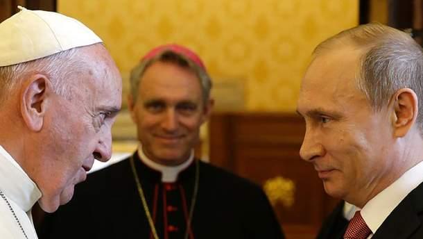 Папа Римський зустрінеться з Путіним