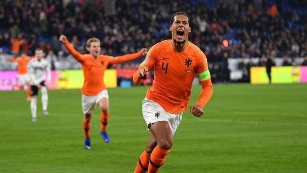Нідерланди – Англія: де дивитися онлайн 1/2 Ліги націй - 06.06.2019