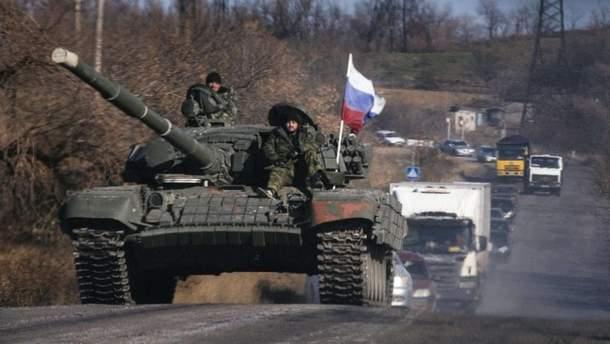 Російські війська в Україні