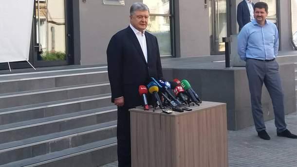 Порошенко прокомментировал инцидент с плагиатом в речи Зеленского