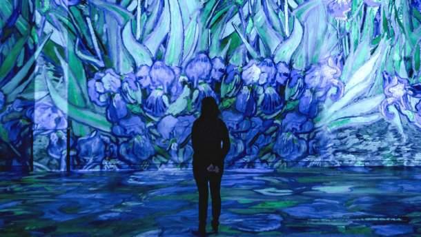 """Выставка, посвященная Ван Гогу, в """"Мастерской света"""""""