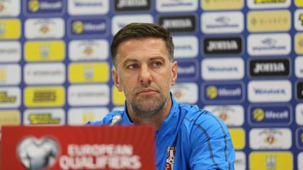 Головний тренер збірної Сербії Младен Крстаїч