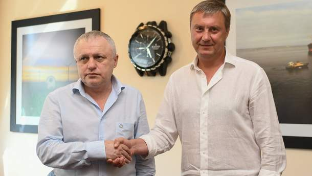 """""""Динамо"""" офіційно залишило Хацкевича на тренерському містку"""