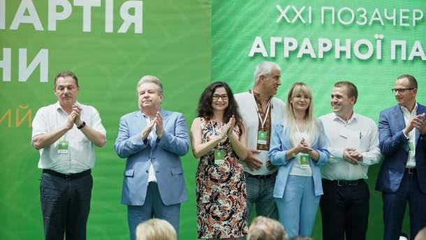 Аграрная партия объявила свой список кандидатов в народные депутаты