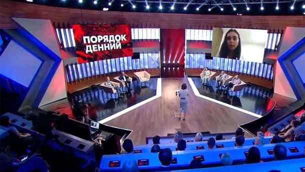 """Юлия Мендель в эфире """"Право на власть"""""""