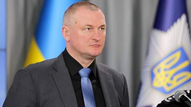 Глава Нацполиции Сергей Князев