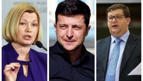 Реакция украинских политиков на заявление Зеленского о восстановлении Россией контроля над своими наемниками на Донбассе