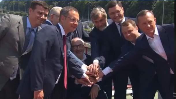 """""""Опоблок"""", """"Миру і розвитку"""", """"Відродження"""", """"Наші"""" і """"Довіряй ділам"""" ідуть разом на вибори"""