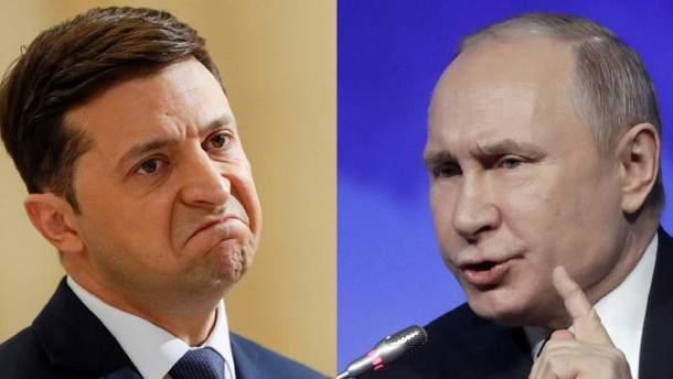 Зеленський не домовиться з Путіним про мир