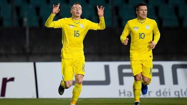 Украина – Люксембург анонс матча