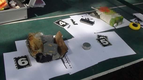 Взрывное устройство спрятали в коробке из-под сока