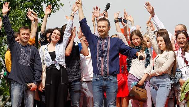 "Святослав Вакарчук возглавит список партии ""Голос"""
