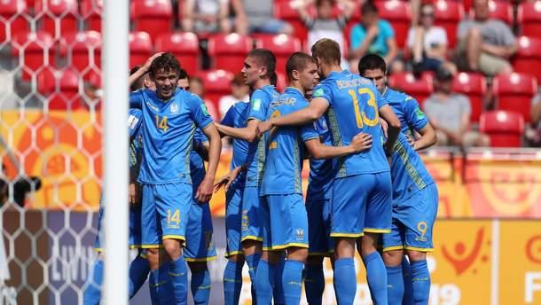 Сборная Украины победила Колумбию и вышла в полуфинал Чемпионата мира U-20: видео