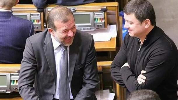 Виктор и Иван Балога на заседании Верховной Рады