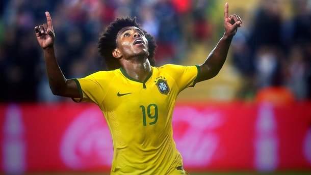 Вілліан зіграє за збірну Бразилії