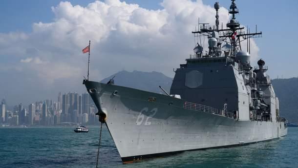 ВМС США обнародовали видео опасного сближения кораблей США и России у Филиппин