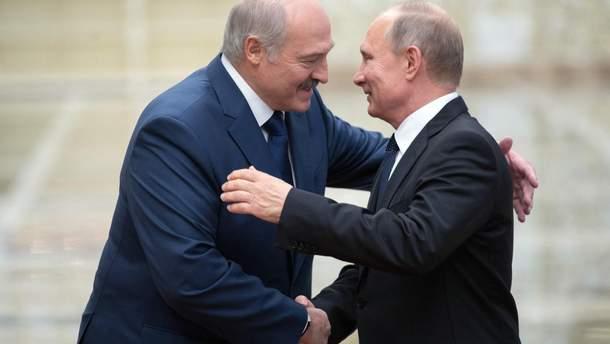 Путин прокомментировал возможность объединения России и Беларуси