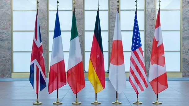 Дипломаты стран G7 положительно отреагировали на решение КСУ