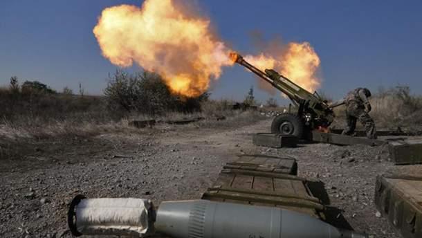 Бойовики вели обстріли на Донбасі з забороненого мінськими угодами озброєння