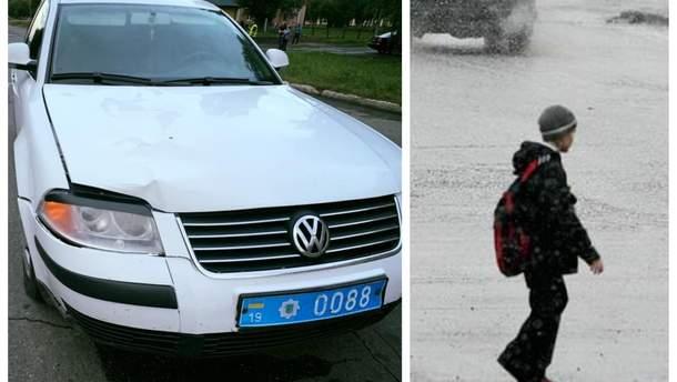 Мальчику,  которого сбило авто полиции в Конотопе, сделали операцию
