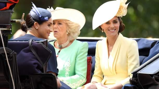 Кейт Миддлтон на официальном праздновании дня рождения Елизаветы II