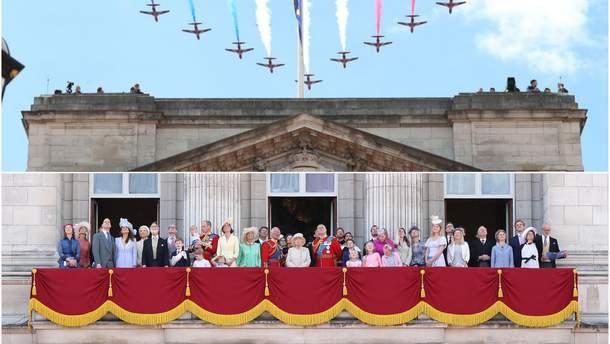 Королівська сім'я яскраво завершила святкування уродин Єлизавети II