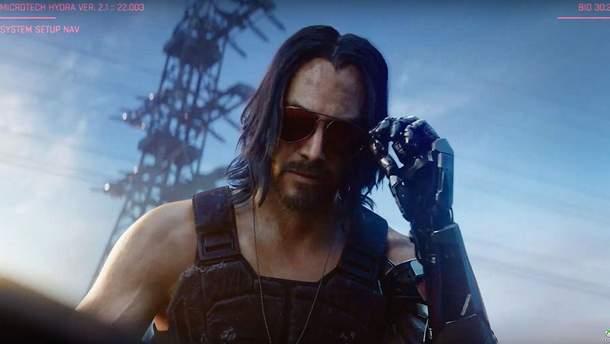 Cyberpunk 2077 - дата выхода игры с Киану Ривзом, цена, трейлер киберпанк 2077