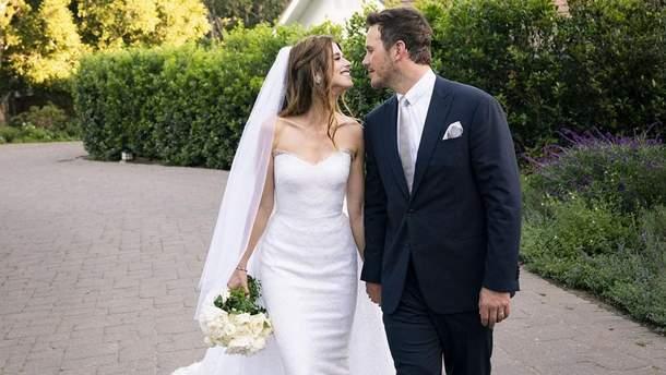 Кэтрин Шварценеггер и Крис Пратт поженились