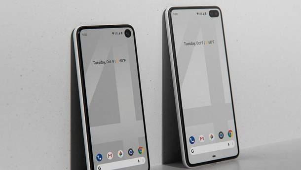 Ймовірний дизайн смартфонів Google Pixel 4