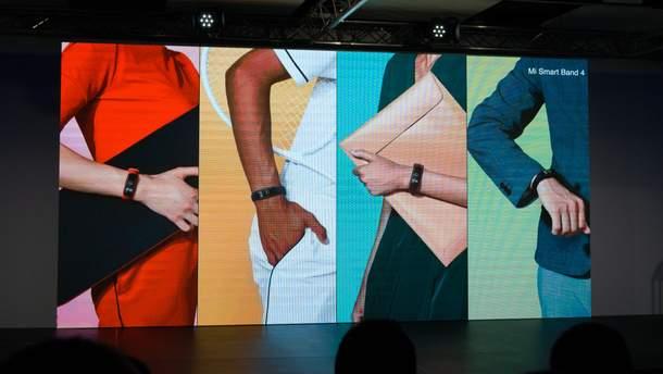 Фітнес-трекер Xiaomi Mi Band 4 представили офіційно: характеристики і ціна