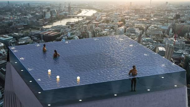 Бесконечный бассейн на крыше небоскреба появится в Лондоне