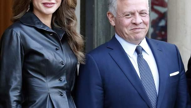Рания и ее муж король Иордании Абдалла II