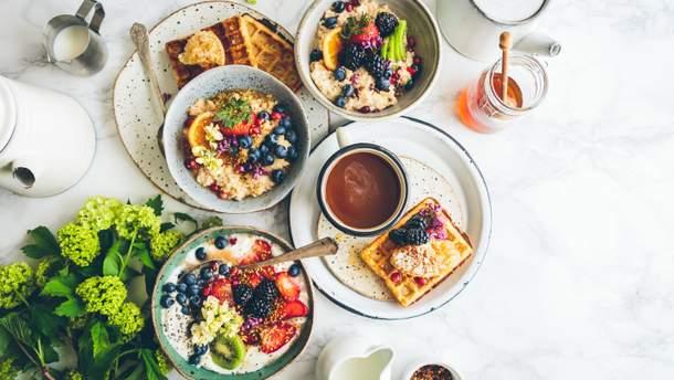 Рецепти на сніданок - що приготувати на сніданок швидко та просто
