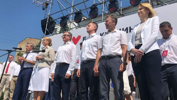 Юлия Тимошенко не предлагает ничего нового