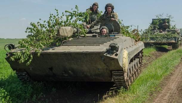На Донбассе два украинских солдата получили ранения