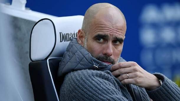 """Манчестер Сити"" разыграет куртку Гвардиолы"