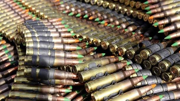 Украина получила боеприпасов на более 250 тысяч евро