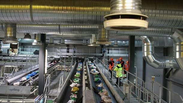 Будівництво заводу – частина регіонального плану управління відходами