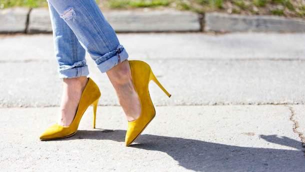 Супрун назвала опасную обувь